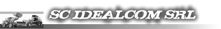Firma utilaje constructii IDEAL COM SRL - Teleorman